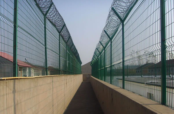 Anti Cutting And Anti Climbing Fence Prison Fence