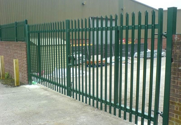 Palisade Fencing Of Quot W Quot Profile Quot D Quot Profile And Angle Iron